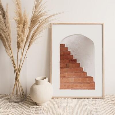 Terracotta Stairway