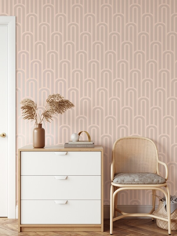 Boho Arches Removable Wallpaper
