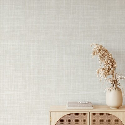 Luxe Linen Removable Wallpaper