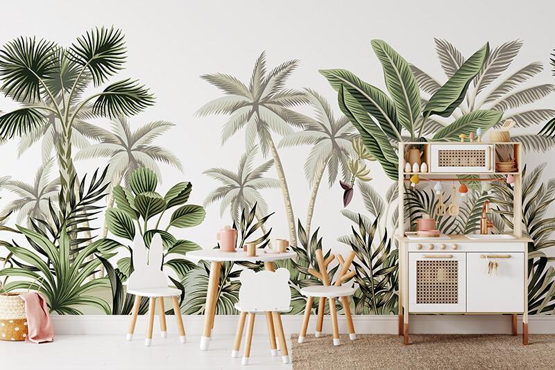 Lush Jungle Removable Wallpaper