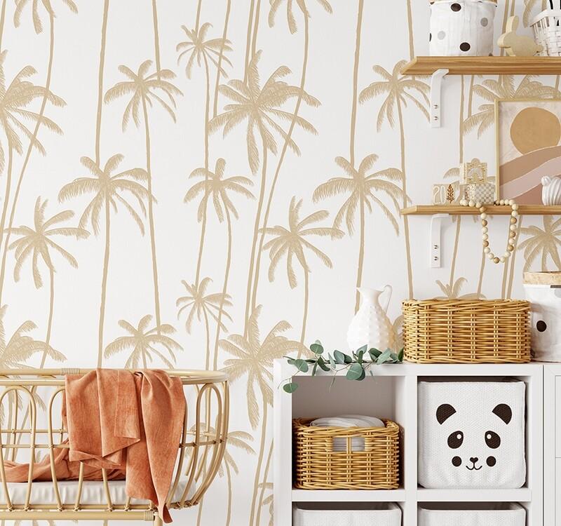 Bali Palms Removable Wallpaper