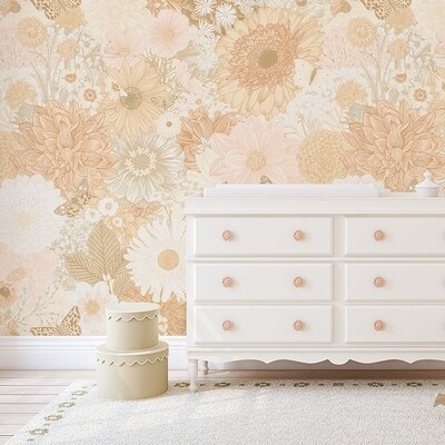 Marigold Removable Wallpaper