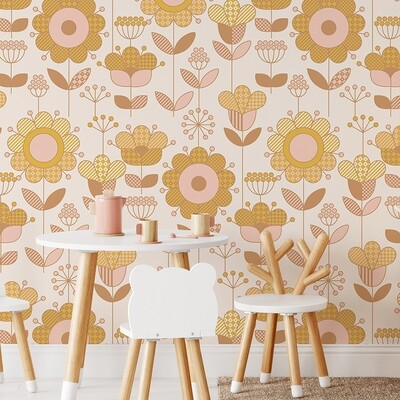*NEW* Sunny Days Removable Wallpaper