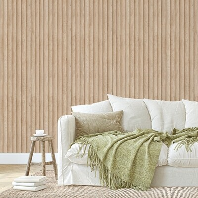 Modern Timber Removable Wallpaper