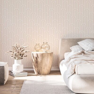 Boho Arches (Neutral) Removable Wallpaper
