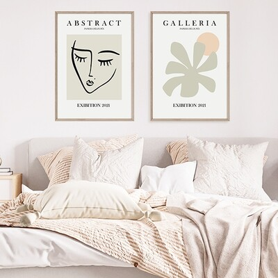 Abstract Visage & Palm Galleria Set