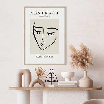 Abstract Visage