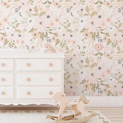 Bloom Crush Removable Wallpaper