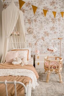 Boho Blooms Removable Wallpaper