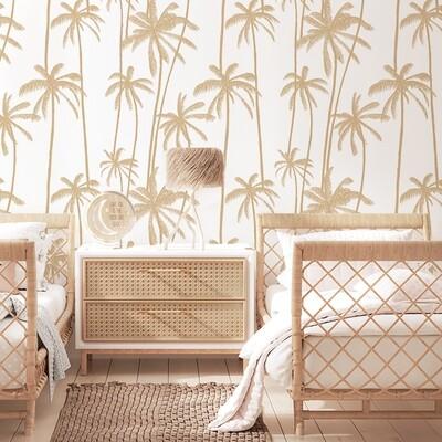 Bali Palms Removable Wallpaper