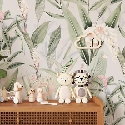 Jungle II Removable Wallpaper