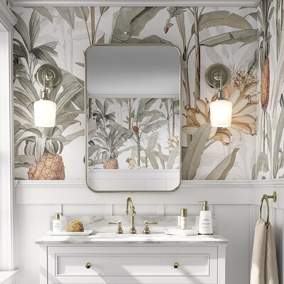 Tropical Jungle Removable Wallpaper