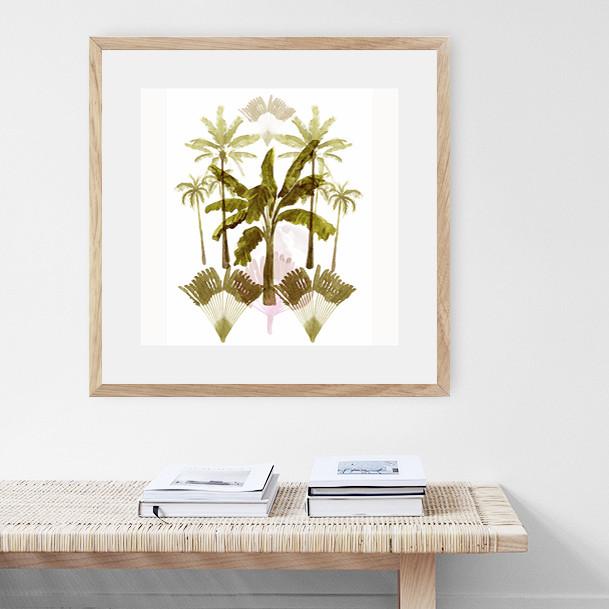 Boho Tropical Palms