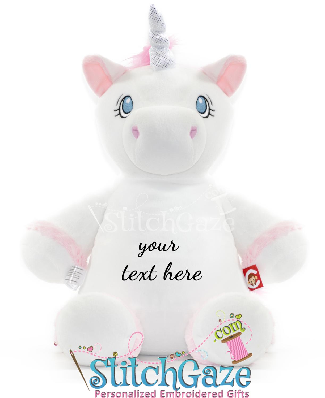 Unicorn Huggable (White)