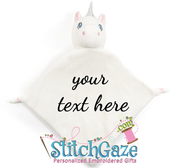 Unicorn Blankie (White)