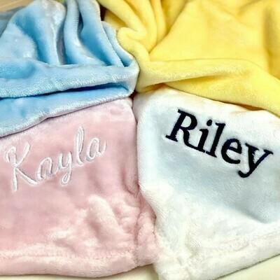 Mink Baby Blankets