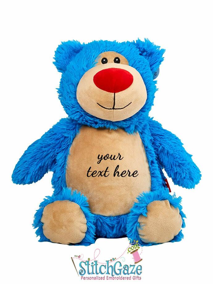 Bear Huggable (Blue)