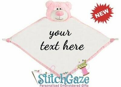 Bear Blankie (Pink)