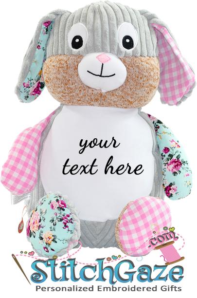 Sensory Pink Bunny Huggable