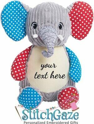 Sensory Elephant Huggable