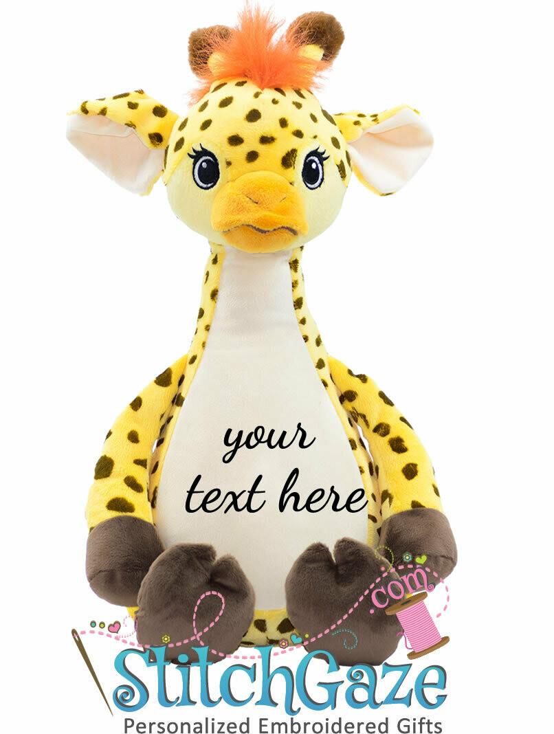 Giraffe Huggable