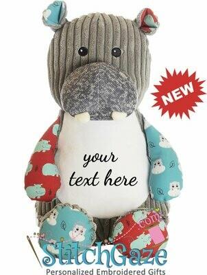 Sensory Hippo Huggable