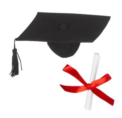 Dress your Huggable: Graduation Hat & Diploma Set