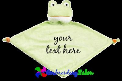 Frog Blankie