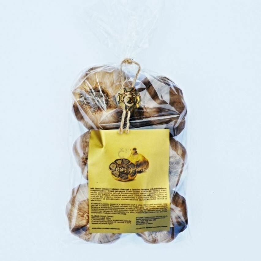Czech Black Garlic Bag 300g, with peel