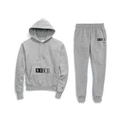 NoBS x Champion® Sweats Set Hoodie + Joggers