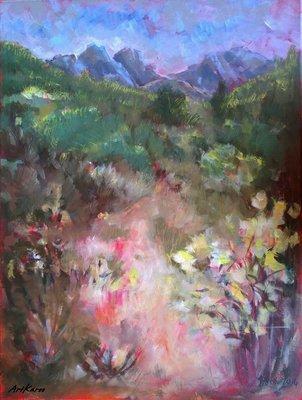 Janet Dixon - Veld in Flower