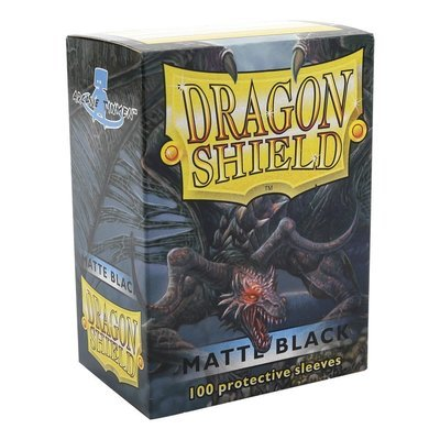 100 Pack of Dragon Shield Sleeves