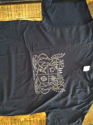 Navy Blue Castle T-shirt