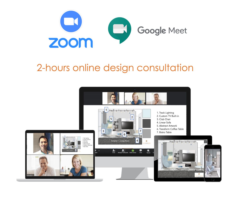 2-Hour Online Design Consultation