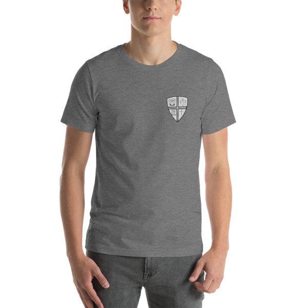 Short-Sleeve Unisex T-Shirt w/Logo on Left