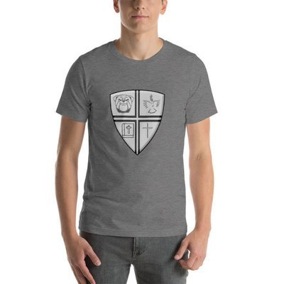 Short-Sleeve Unisex T-Shirt w/Logo in Middle