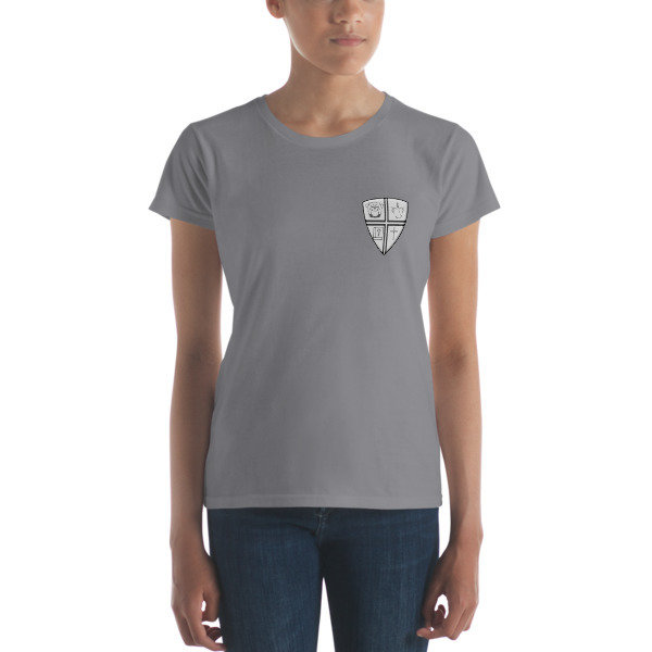 Women's short sleeve t-shirt w/Logo on Left