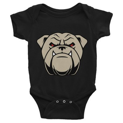 Infant Bodysuit w/ bulldog