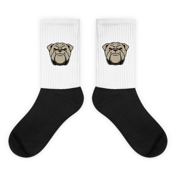Socks w/bulldog