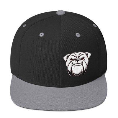 Snapback Hat- w/Bulldog