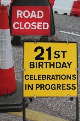 Celebrations in progress
