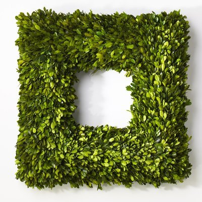 Boxwood Wreath Square - Large