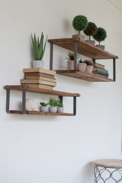 Recycled Wood Shelves