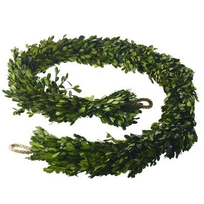 Boxwood Garland - Short
