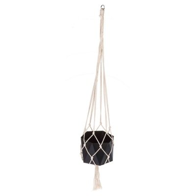 Hanging Black Planter