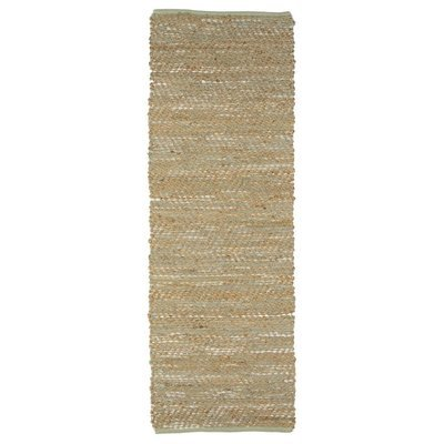 Jute & Mint Leather Hallway Runner