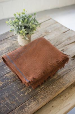 Rust Wool Blanket