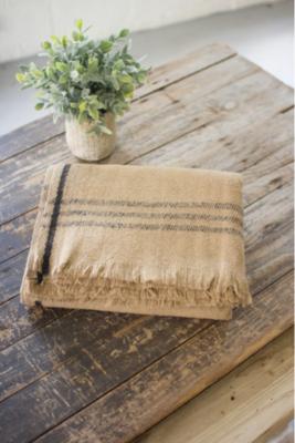 Khaki Wool Blanket