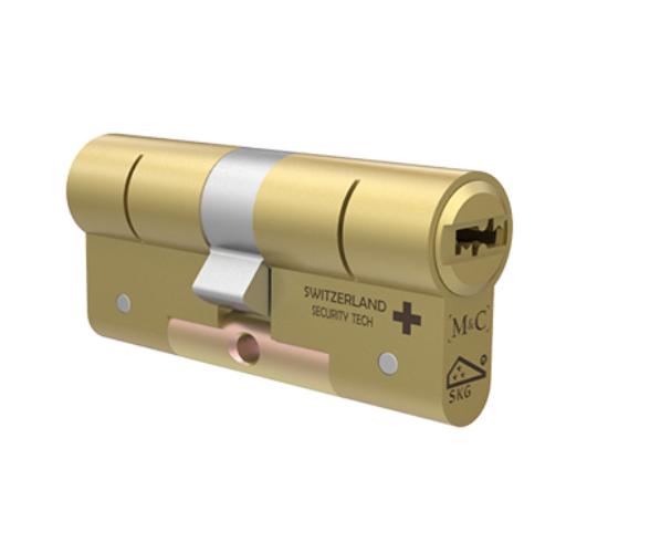 Cylindre universel M&C Condor - Haute Sécurité - Le M&C CONDOR réunit les technologies de sécurité anti-crochetage, anti-bumping, anti-perçage et anti-impression en un seul cylindre.