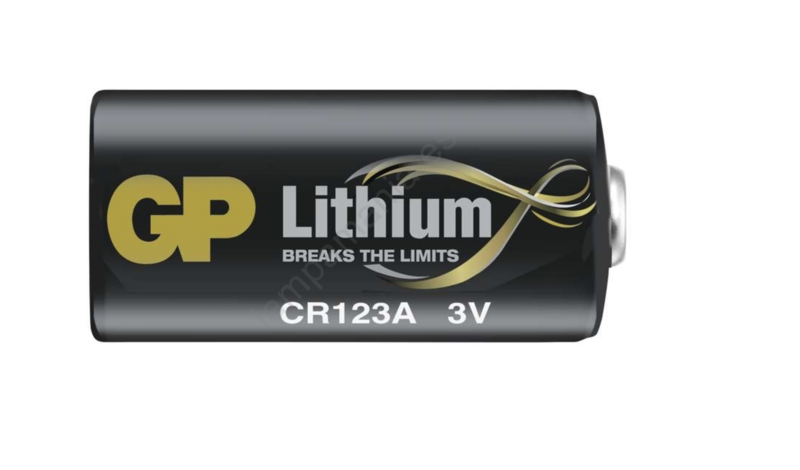 GP Lithium CR123A piles, lot de 4 pour Danalock V3